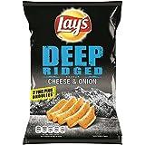 Lay's chips deep ridged cheese & onion 120g (Prix Par Unité) Envoi Rapide Et Soignée