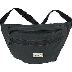 FORVERT Chris Unisex Hip Bag größenverstellbarer Hüftbeutel mit zusätzlichem Stickbag auf der Innenseite