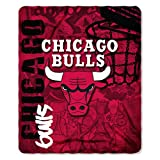 Northwest NBA HARD KNOCKS Fleece Decke 152 x 127 cm Chicago Bulls