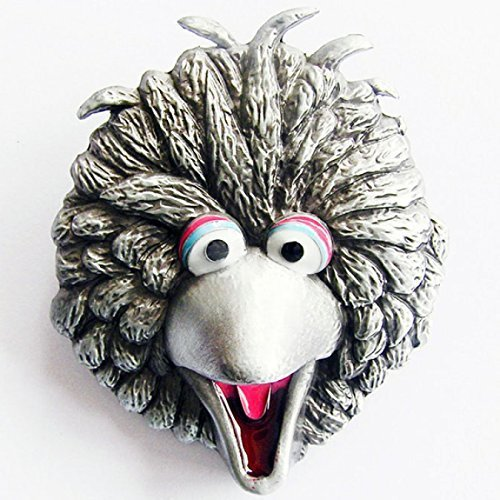 Tiffy Sesame Street Buckle, argento antico - fibbia della cintura