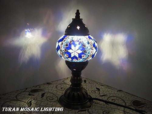 HANDCRAFTED Turkish&Moroccan Mosaic Table Lamps Comes With FREE BULB-UK SELLER