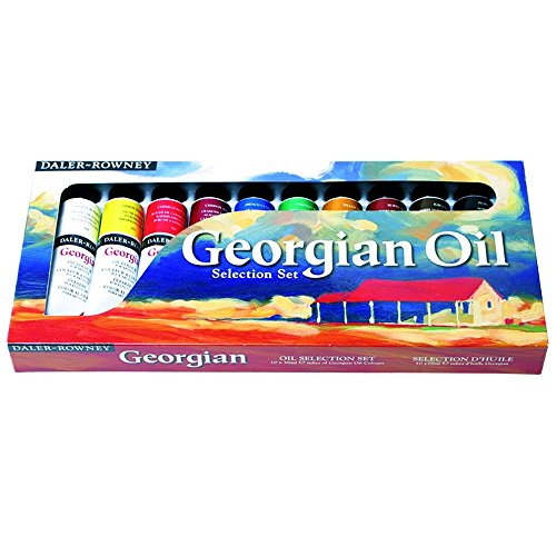 daler-rowney-georgian-oil-colour-selection-set-10-tubes