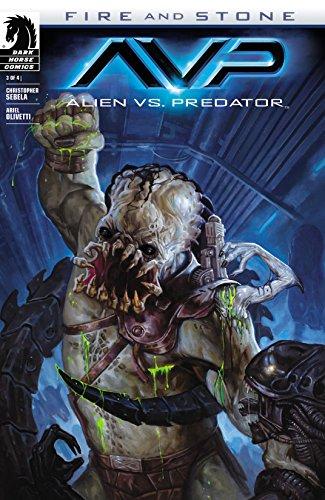 Alien vs. Predator: Fire and Stone #3 (Aliens vs. Predator ...