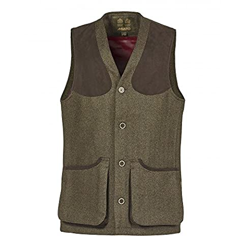 Musto Stretch Technical Tweed Mens Waistcoat