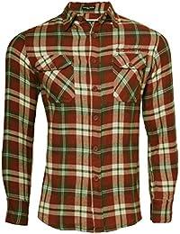 Mens Hope & Honour casual long sleeve check shirt S,M,L,XL & XXL