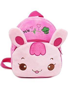 Zhhlaixing Baby Children Cute Cartoon Plush Mochila School Bag Kids Shoulder Bag Hot