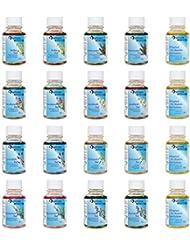 Soin pour le bain, coffret cadeau découverte: Arnica, Huile d'aiguilles d'épicéa, Bain aux fleurs de foin, Huile de camomille, Essence de lavande, Essence de mélisse, Bain au romarin, Bain au thym (par 2x30ml) et soin pour le bain Muscles et articulations (4x30ml) de Spitzner