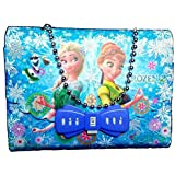 My Party Suppliers Frozen Sling Bag for Girl's with Diary