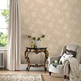 Boutique Sale Special Beige Floral Wallpaper (Was £24)
