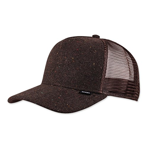 Djinns Spotted Edge (dark brown) - Trucker Cap Meshcap Hat Kappe Mütze Caps