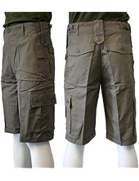 Dallaswear - Short Bermuda Homme Safari Chasse Été Style Cargo
