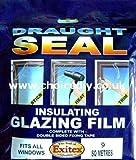 Best Window Insulation Kits - Insulating Film for Windows, Transparent Glazing Film 9.0m2 Review