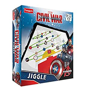 Funskool Captain America Civil War - Jiggle, Multi Color