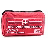 KFZ Auto Verbandkasten Verbandskasten ROT Erste Hilfe DIN 13164 (MDH 06.2022)