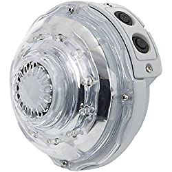 Intex Lámpara Hidroeléctrica LED para Spa con Jets, 6.5x13x13 cm, 55028