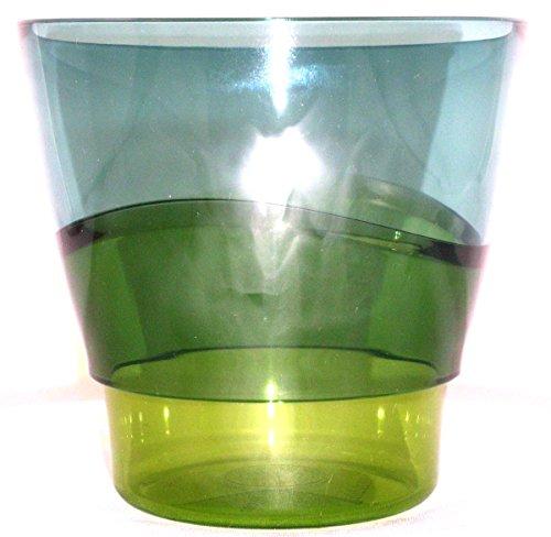 1a TUPPER Trinkbecher ELEGANZIA Becher Schüssel Schale 290 ml --- blau grün