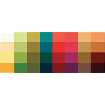 Grosser Farbpass Herbsttyp 32 Farben Farbkarte Herbst Herbstfarben