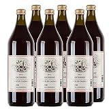 Kalterer See DOC Rotwein Südtirol Italien 2017 Liter trocken (6x 1 l)