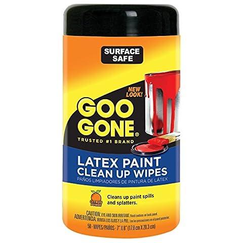 Goo Gone Peinture Lingettes de nettoyage, DE