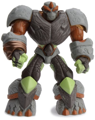 Gormiti TV2 Titanium - 7622 Nick - Articulated Action Figure with Armour Explosive - 12 cm