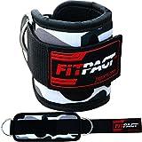 FITPACT Fußschlaufen Für Kabelzug Fußschlaufe Seilzug Fitness Zughilfe Für Beine