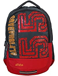 School Bag Backpack 30 Liters For Boys/Girls Polyester Lightweight Bag Bingo By Alfisha