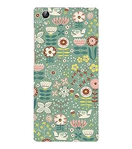 EPICCASE feast flowers Mobile Back Case Cover For Vivo Y51 (Designer Case)
