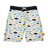 Lässig 1431009102 Baby Board Shorts Badehose, Paper Boat, 6 Monate, mehrfarbig