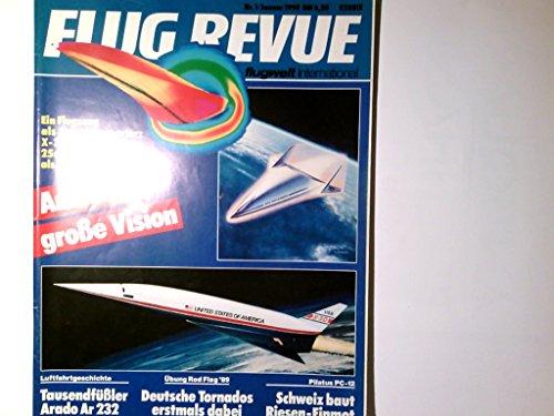 FLUG REVUE Heft 1/1990 mit Luftwaffenforum