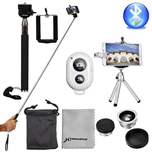 XCSOURCE, Super Kit Fotografico Trípode + Controlador Wireless+ 3-en-