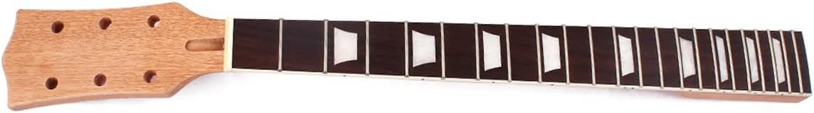 ULTNICE Manche de guitare électrique en acajou et palissandre 22 frettes 145029ZXRGC5395