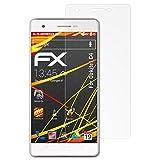 atFolix Schutzfolie kompatibel mit Oukitel C4 Bildschirmschutzfolie, HD-Entspiegelung FX Folie (3X)