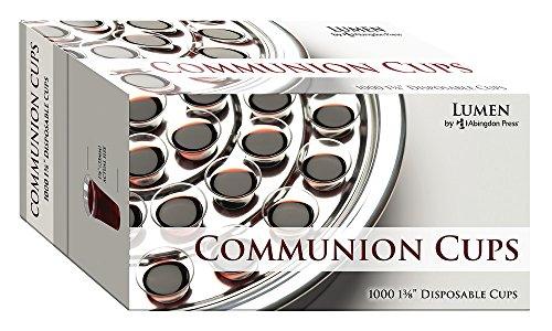 Lumendisposable Communion Cups 1 3/8: Box of 1000
