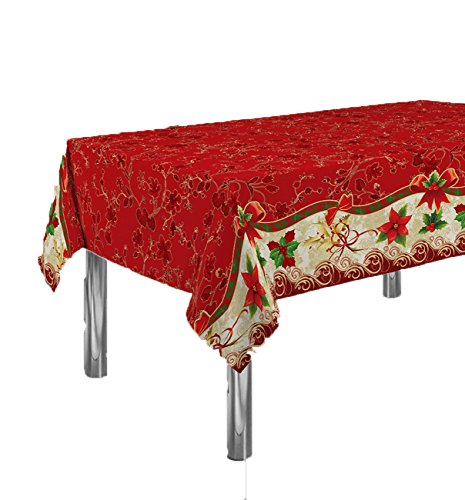 ExclusivoCIR Manteles Red Flower Navidad