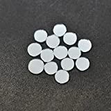 Embroiderymaterial Shisha Mirrors for Embroidery and Craft Purpose, Round Shape, 1CM, 100Pcs