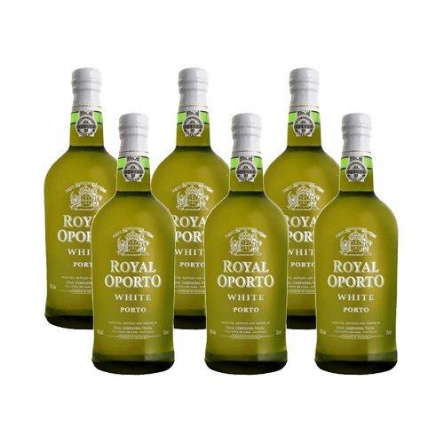 Portwein Royal Oporto White - Dessertwein- 6 Flaschen