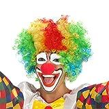 Dance Fairy Clown Perücke und Schaum Clown Nase rot für Clown Kostüm Party Props Dress Up Zubehör für Hochzeiten Festivals Karneval Parteien Prop