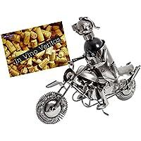 BRUBAKER portabottiglie dal design motociclista