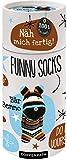 Näh mich fertig! Funny Socks: Bär Benno (100% selbst gemacht)