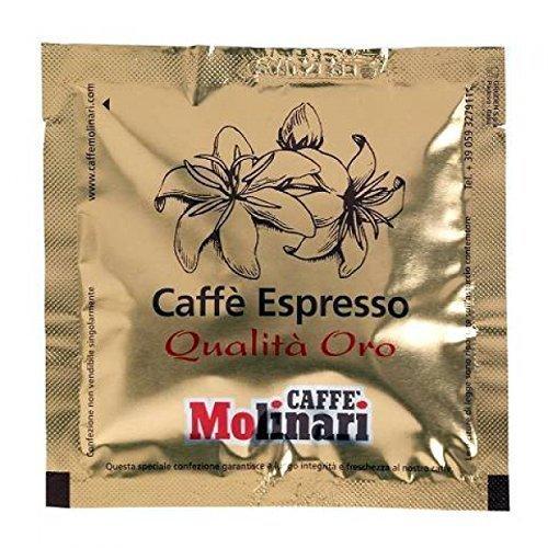 Caffè Molinari Oro 'Lungo' - 150 ESE Kaffeepads (Pods) für Café Crème, 975 g