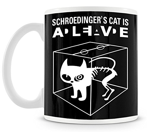 TLM Schroedingers Cat Tasse (Halloween Big Bang Sheldon Kostüm)