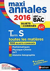 MAXI Annales ABC du BAC 2016 Term S