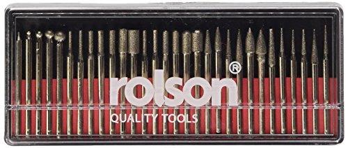 Rolson 24680 - Fresa de cabeza cuadrada  (30 unidades de diferentes tamaños) thumbnail