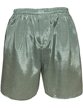 Uomo Biancheria intima Sleep Comfort Thai Silk pugile corto