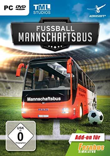 Fernbus Simulator - AddOn Fußball Mannschaftsbus - [PC] (Fußball-simulator)