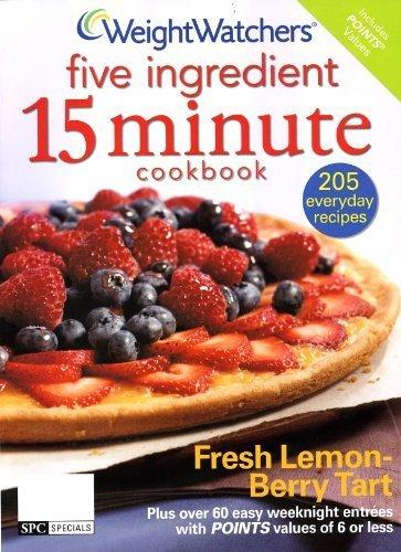 Weight Watchers Five Ingredient 15 Minute Cookbook by Weight Watchers (2008) Paperback par Weight Watchers