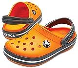 crocs Kinder Sandale Crocband Clog K 204537 Blazing Orange/Slate Grey 28-29