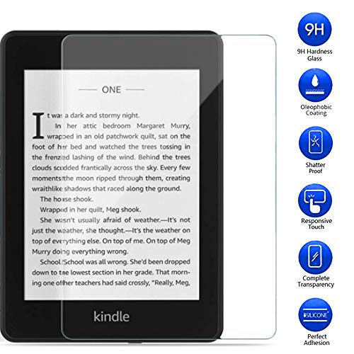 MaxKu 10. Generation Kindle Paperwhite ebook Panzerglas Displayschutzfolie, 9H Härte Anti-Kratzen Anti-Öl Schutzfolie für Kindle Paperwhite 10. Generation 2018【1 stück】
