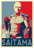 Instabuy Poster One Punch Man Propaganda Saitama (Variant)