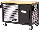 Sonic equipment Sonic-equipment-Auflagetisch für atelier Work Trolley - 289-7289 Werkzeug